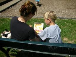 Mentor & Child Reading