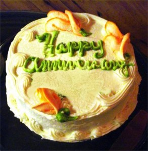 Anniversary Cake-Burning Mouth Syndrome