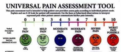 Universal Pain Assessment Chart