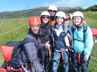 Tandem Paragliding Group - Interlaken 2009